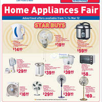Read more about NTUC Fairprice Electronics, Household, Appliances & Kitchenware Offers 1 - 14 Mar 2012