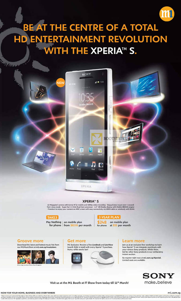 M1 Mobile Sony Xperia S