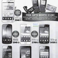 Read more about NSPL Samsung Smartphones No Contract Promotion Price List @ 112 Katong 31 Mar 2012