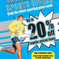 Read more about Royal Sporting House Up To 25% Off Sports Promotion 13 Mar 2012