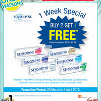 Read more about Watsons Personal Care, Cosmetics & Beauty Offers 29 Mar - 4 Apr 2012