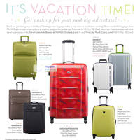 Read more about Tangs Vacation Time Luggage Promotions 9 - 18 Mar 2012
