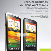 Read more about HTC One X Promotion @ Marina Square 28 - 29 Apr 2012