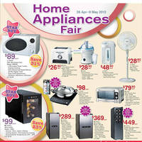 Read more about NTUC Fairprice Electronics, Household, Kitchenware & Wine Offers 26 Apr - 9 May 2012