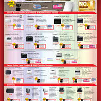 Read more about Canon Inkjet Printers, Laser Printers & Scanners Promotion Price List 30 Mar - 3 Jun 2012