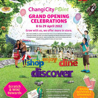 Read more about Changi City Point Grand Opening Celebrations 8 - 29 Apr 2012