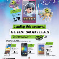 Read more about Starhub Smartphones, Tablets, Cable TV & Mobile/Home Broadband Offers 28 Apr - 4 May 2012