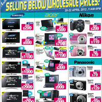 Read more about Audio House TV, Digital Cameras, Notebooks & Appliances Offers 20 - 22 Apr 2012