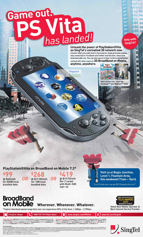 Sony Playstation PS Vita Launch