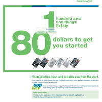 Read more about Standard Chartered Get $80 Cashback For Applying Credit Card 4 Apr - 30 Jun 2012