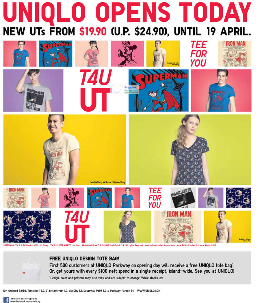 UTs From 19.90 Till 19 April