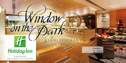 Read more about Window On The Park Restaurant 50% Off Durian High Tea Buffet @ Holiday Inn 6 Jul 2012