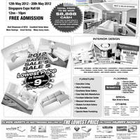 Read more about 100% Home Design 2012 @ Singapore Expo 12 - 20 May 2012