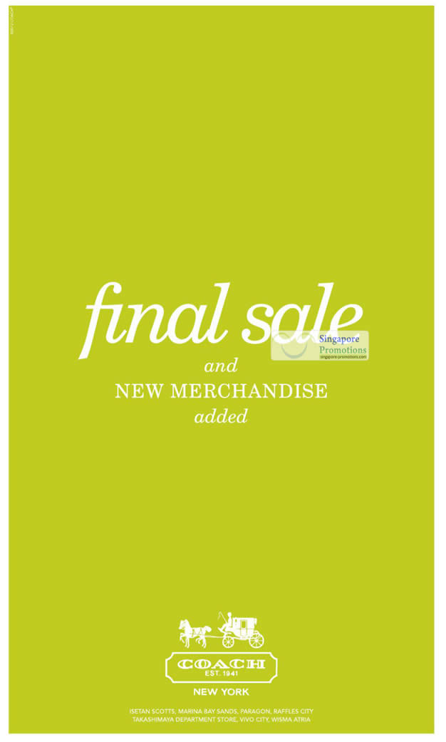 21 Jun Final Sale, New Merchandise Added