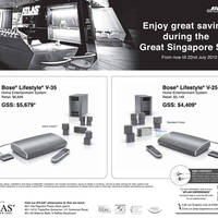 Read more about Bose Home Entertainment Systems GSS Promotion 25 May - 22 Jul 2012
