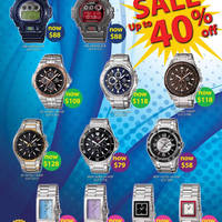 Read more about Casio Digital Watches Sale Up To 40% Off 25 May - 22 Jul 2012