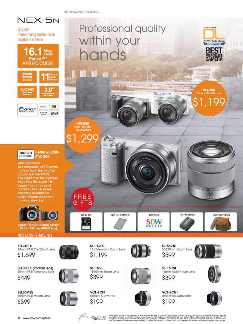 Digital Camera, NEX-5N