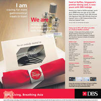 Read more about DBS/POSB Debit/Credit Cardmembers 1 For 1 & 1 Dines Free Promotions 17 May 2012