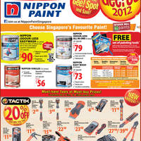 Read more about Home-Fix DIY Store Nippon Paint & TacTix Promotion Offer 11 - 31 May 2012
