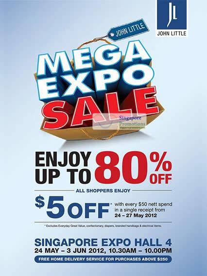 John Little Expo Sale Details