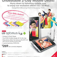 Read more about Samsung & LG Smartphones No Contract Price List 12 May 2012