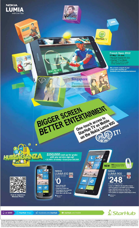 Nokia Lumia 610, Nokia Lumia 900