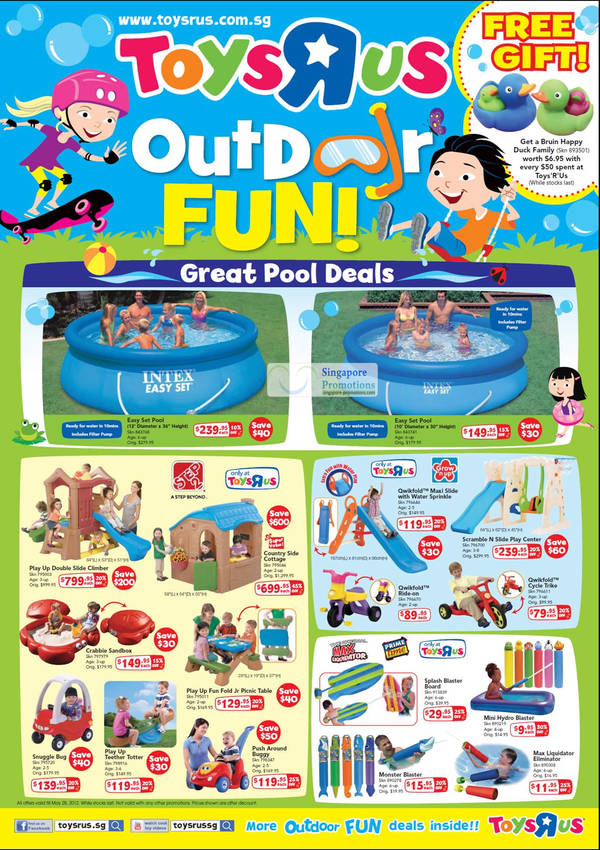 Pools Intex Easy Set Play Up Climber Country side