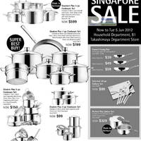 Read more about Takashimaya WMF Great Singapore Sale Offers 31 May - 5 Jun 2012