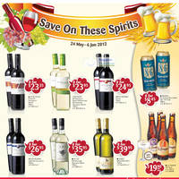 Read more about NTUC Fairprice Electronics, Appliances, Wines & Kitchenware Offers 24 May - 6 Jun 2012