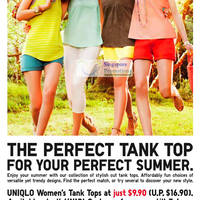 Read more about Uniqlo Dry Mesh Short Sleeve Polo Shirt & Women's Tank Tops Promotion 25 May - 7 Jun 2012