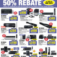 Read more about Audio House Electronics, TV, Digital Cameras, Notebooks & Appliances Offers 11 - 13 May 2012