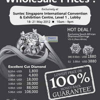 Read more about Yee Poh Diamond Jewellery Sale Up To 80% Off @ Suntec 18 - 21 May 2012