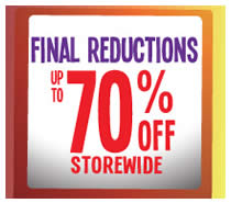5 Jul Fox Fashion Further Reductions