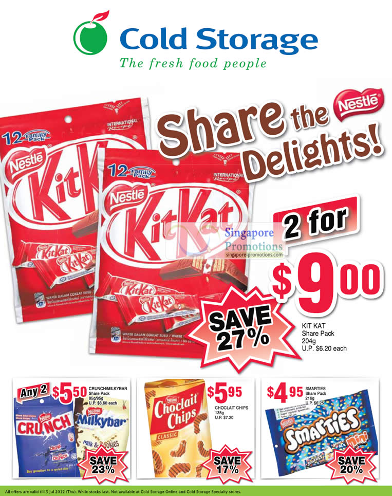 Chocolate Offers, Kit Kat, Curnch, Smarties