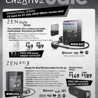 Read more about Creative Singapore Great Sale 13 Jun - 31 Jul 2012