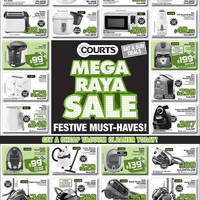 Read more about Courts Mega Raya Sale Promotion Offers 16 - 22 Jun 2012