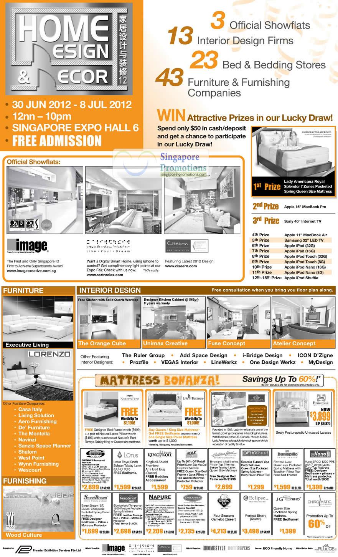 Home Design Decor Event Details, Lucky Draw