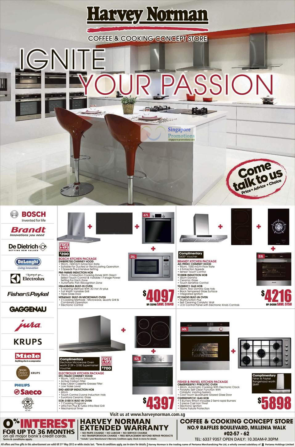 Kitchen Packages Bosch Brandt Fisher Paykel Electrolux Harvey Norman Electronics