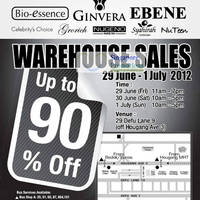 Read more about L.D. Waxon (Ginvera, Bio-Essence, etc) Warehouse Sale Up To 90% Off 29 Jun - 1 Jul 2012