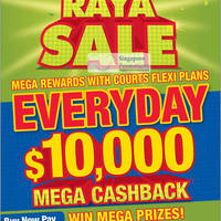 Read more about Courts Mega Raya Sale Promotions 9 - 15 Jun 2012