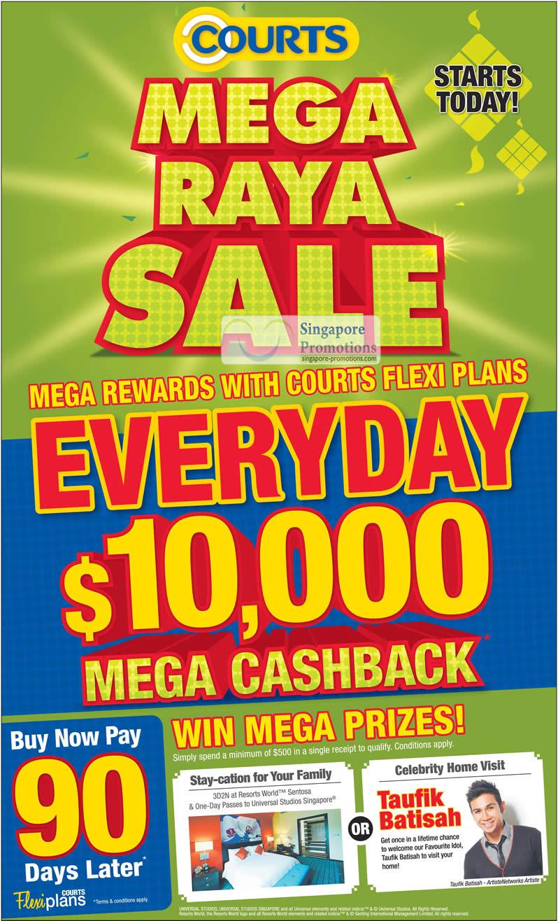 Mega Raya Sale 10000 Cashback