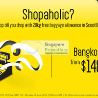 Read more about Scoot Airlines From $148 Bangkok Fares 20 - 25 Jun 2012