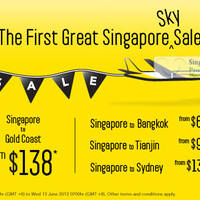 Read more about Scoot Airlines From $68 Bangkok, Tianjin & Australia Fare Sale 12 - 13 Jun 2012