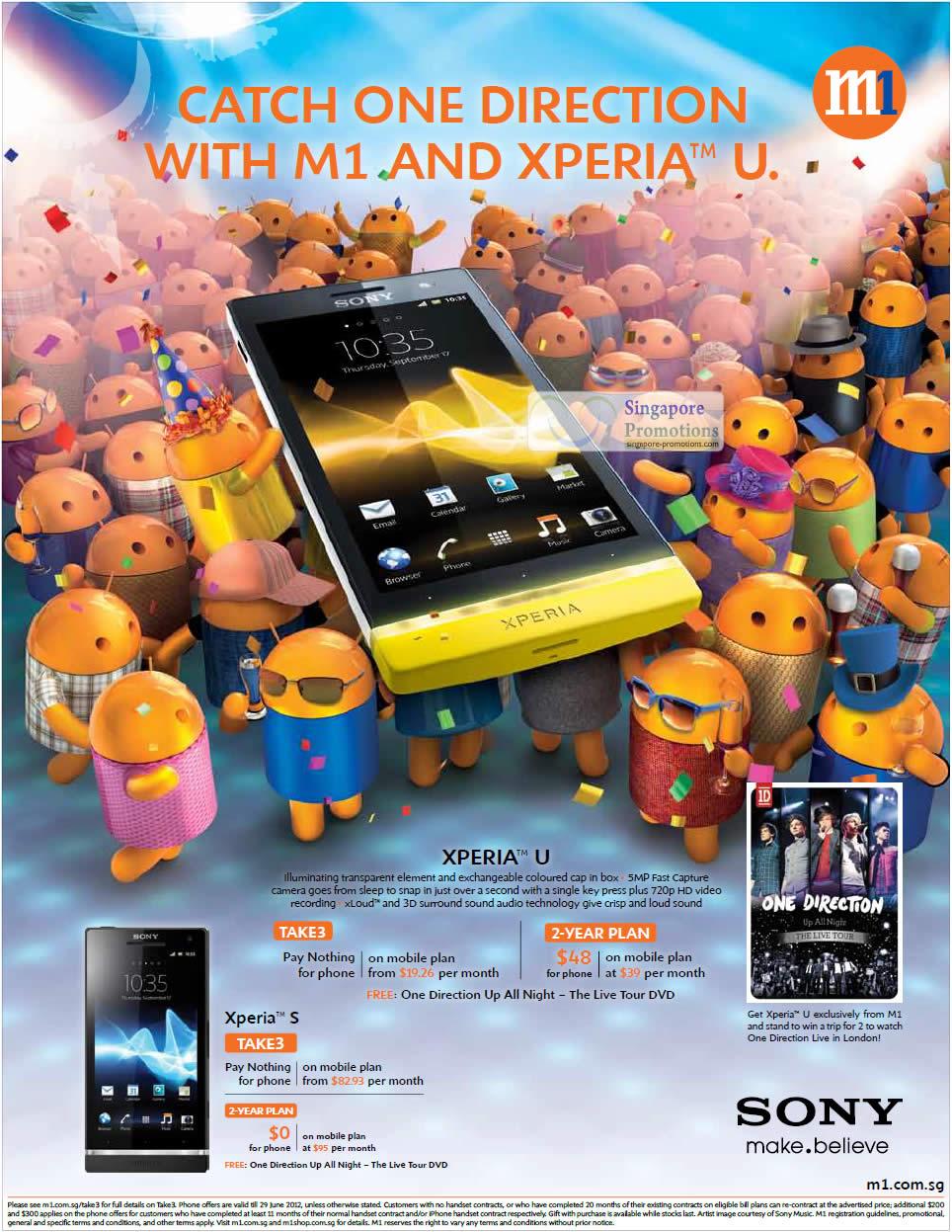 Sony Xperia U, Sony Xperia S