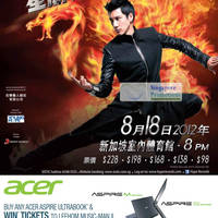 Read more about Acer Notebooks, Desktop PCs, Ultrabooks & AIO Desktops Promotion Price List 25 Jun - 31 Jul 2012