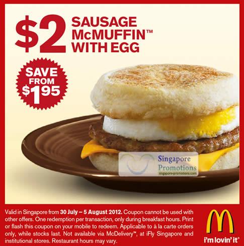 1 dollar egg white mcmuffin coupon