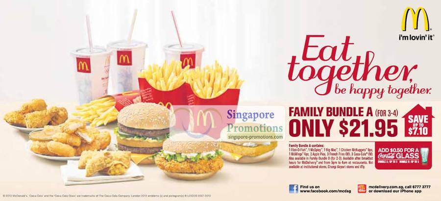 20 Jul McDonalds Family Bundle A