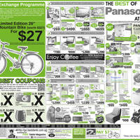 Read more about Best Denki Panasonic & Other Electronics Promotion Offers 6 - 9 Jul 2012