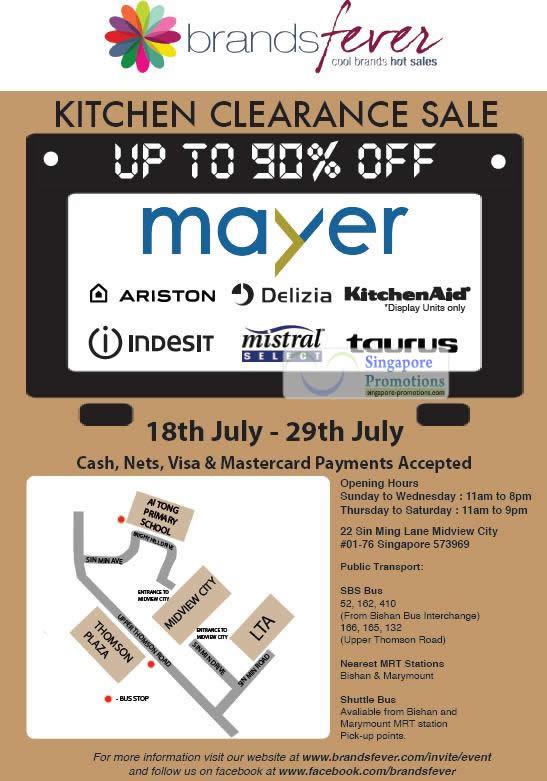 Brandsfever Mayer Sale Details