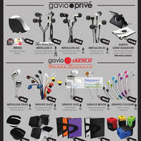 Read more about Gavio Earphones & Other Products Price List 1 Jul 2012